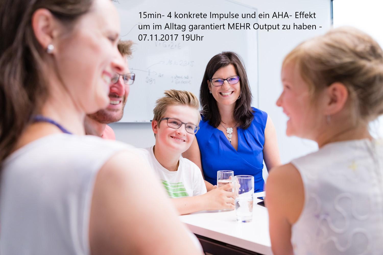 Unternehmerinnen Stammtisch Arnstadt Impulsvortrag 07.11.17